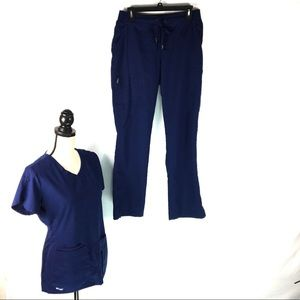 Grey's Anatomy Scrub Set Womens Size Small